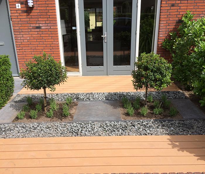 Tuin aanleg door hoveniersbedrijf Fievet